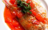Bữa trưa ngon miệng với món cá hồng sốt cà chua