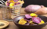 Tự làm chip khoai lang giòn ngon tại nhà