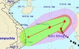 Tin mới nhất về bão số 9 sáng 27/11: Cách quần đảo Hoàng Sa 540km, gió giật mạnh