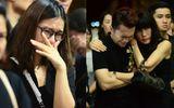 Hoàng Yến Chibi, Nam Cường bật khóc nức nở trước linh cữu NSƯT Quang Lý