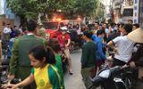 Thanh niên 5 tiền án đập phá nghĩa trang, chém cảnh sát bị thương