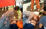 Cô dâu bỏ chụp ảnh cưới hốt hoảng đi cứu người bị đuối nước