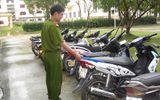 Xóa sổ băng nhóm chuyên hành nghề trộm cắp xe máy liên tỉnh