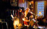 Ông già Noel ở Đức leo nhà tầng thay vì chui ống khói