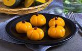 Bánh Mochi bí đỏ - không cần phẩm màu và hương liệu