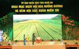 Tưng bừng Ngày hội hoa hướng dương và Đêm hội sắc xuân miền Tây ở Nghệ An