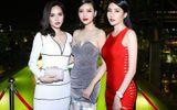 Hoa hậu Ngọc Duyên đọ dáng chuẩn cùng Diệu Linh, Minh Thư
