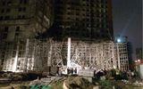 Đà Nẵng: Sập giàn giáo công trình 33 tầng, 4 người bị thương nặng