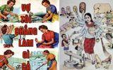 """Sự thật sau câu """"Vợ tôi không làm gì, cô ấy ở nhà chăm con"""" khiến phụ nữ hả hê"""