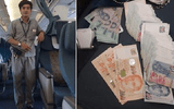 Nhân viên sân bay trả lại 92 triệu đồng nhặt được cho người đánh mất
