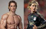 Vận động viên thể hình gây sốt vì giống hệt Fernando Torres