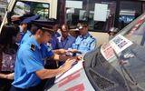 Sở GT-VT Hà Nội thu hồi gần 400 phù hiệu xe ô tô trong một tháng