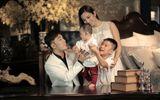 """""""Ghen tị"""" với hình ảnh hạnh phúc của gia đình Ưng Hoàng Phúc"""