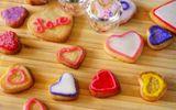 Trổ tài làm bánh quy bơ giòn tan thơm phức nhân ngày Valentine