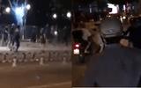 Hơn 20 thanh niên cầm kiếm, mã tấu truy sát nhau trên phố Biên Hòa