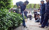 TP Hồ Chí Minh: Nhiều công trình của cơ quan nhà nước chiếm vỉa hè bị tháo dỡ