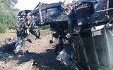 Tàu hỏa va chạm xe ben, 3 người tử vong