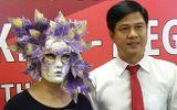 Người phụ nữ đeo mặt nạ lá cây nhận giải độc đắc Vietlott 41 tỷ đồng