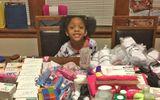 Bé gái 6 tuổi từ bỏ tiệc sinh nhật để lên kế hoạch giúp 125 người vô gia cư