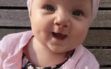 Bé gái 7 tháng tuổi cười và phát âm ngay sau lần phẫu thuật hở hàm ếch đầu tiên