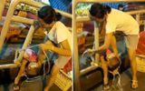 Phẫn nộ người mẹ trẻ bạo hành con giữa đường, người dân thản nhiên quay clip