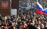 Biểu tình chống tham nhũng, hàng trăm người Nga bị bắt