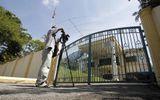 Cảnh sát vào Đại sứ quán Triều Tiên gặp nghi phạm trong vụ 'Kim Jong-nam'