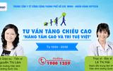 Khởi động Chương trình khám, tư vấn tăng chiều cao cho trẻ tại TP Hồ Chí Minh