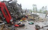Hiện trường vụ tai nạn xe khách ở Hà Tĩnh, 2 người tử vong