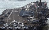3 tàu sân bay Mỹ về bán đảo Triều Tiên