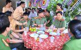Lãnh đạo Bộ Công an viếng đám tang thiếu tá CSGT bị xe tải cán tử vong
