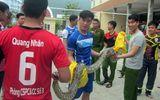 Cảnh sát PCCC Đà Nẵng bắt được trăn đất nặng 15kg