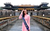 Hoa khôi Khánh Ngân xinh đẹp dịu dàng diện áo dài làm Đại sứ