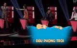 """Giọng hát Việt 2017: Han Sara mặc hanbok hát """"Lạc trôi"""" khiến 4 HLV """"tranh cãi"""""""