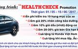 """""""Health Check Promotion"""" –  Chương trình khuyến mại dịch vụ đặc biệt tri ân khách hàng!"""