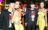 Nathan Lee hôn Phương Mai giữa chốn đông người