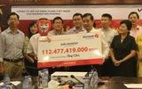 Lộ diện người trúng giải Jackpot trị giá 112 tỷ đồng của Vietlott