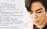 T.O.P (Big Bang) viết tâm thư xin lỗi sau scandal hút cần sa