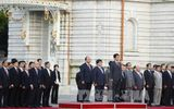 Lễ đón chính thức Thủ tướng Nguyễn Xuân Phúc thăm Nhật Bản