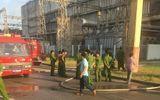 Đang vận hành, nhà máy nhiệt điện Phả Lại bỗng nhiên cháy ngùn ngụt