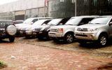 Nghệ An thanh lý 12 xe công với tổng số tiền gần 600 triệu đồng