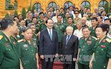 Chủ tịch nước gặp mặt Đoàn cựu quân nhân tình nguyện giúp Campuchia