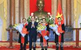 Chủ tịch nước trao quyết định bổ nhiệm Phó Chánh án, Thẩm phán TANDTC