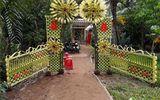 """Mê mẩn những cổng lá dừa """"chất lừ"""" của đám cưới Việt"""