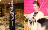 Jennifer Phạm duyên dáng với áo dài trong vai trò MC