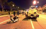 Chạy xe ngược chiều, đôi nam nữ tông vào xe tải tử vong