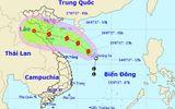 Bão cấp 10 hướng vào Nam Định - Hà Tĩnh