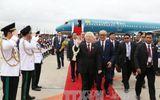 Tổng Bí thư Nguyễn Phú Trọng đến thủ đô Phnom Penh, Campuchia