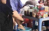 """Phạt nặng người tung clip """"pha trà bằng nước rửa chân"""""""