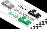 Hiệp hội taxi lo lắng trước hàng loạt khuyến mại của Uber, Grab